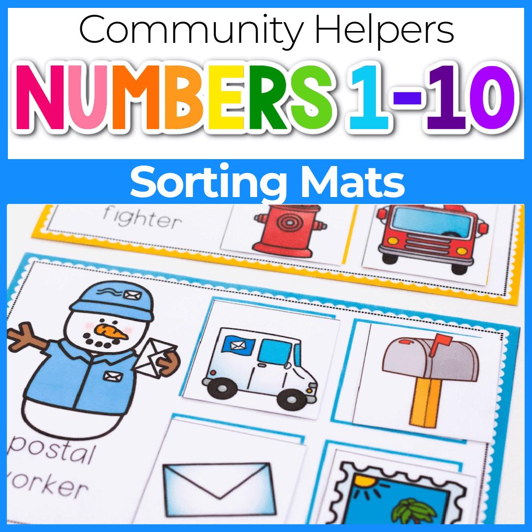 Winter Community Helpers Activities for Preschool