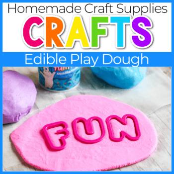 Edible play dough recipe.