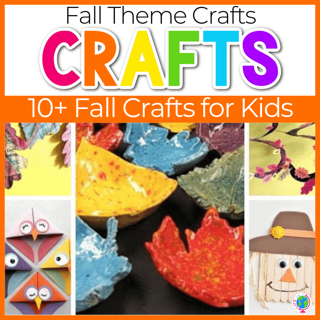 Fun Crafts to Make with Kids this Fall