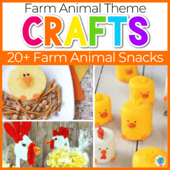 15+ farm theme snacks for kids Featured Image