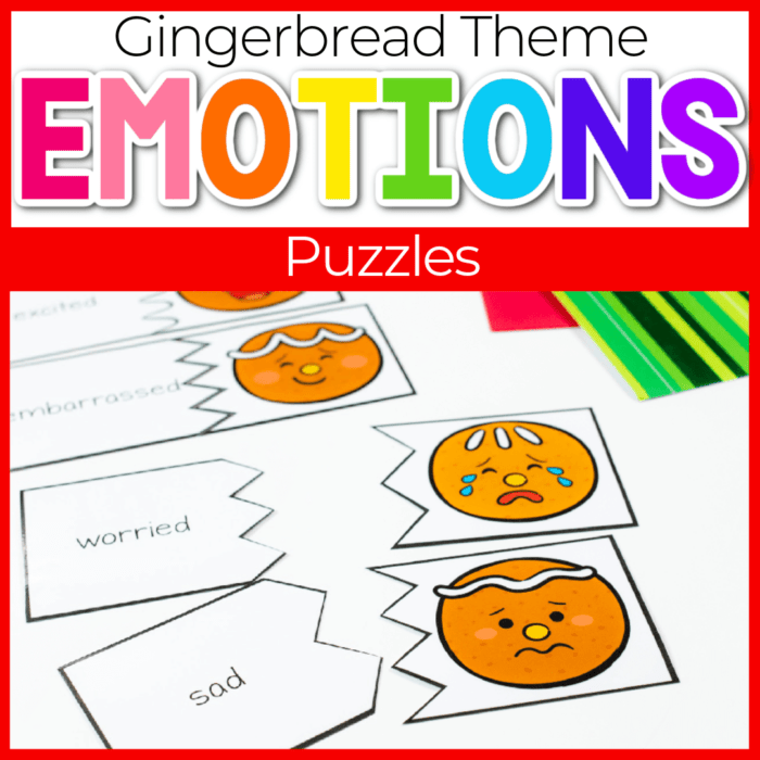 gingerbread emotions puzzles featured