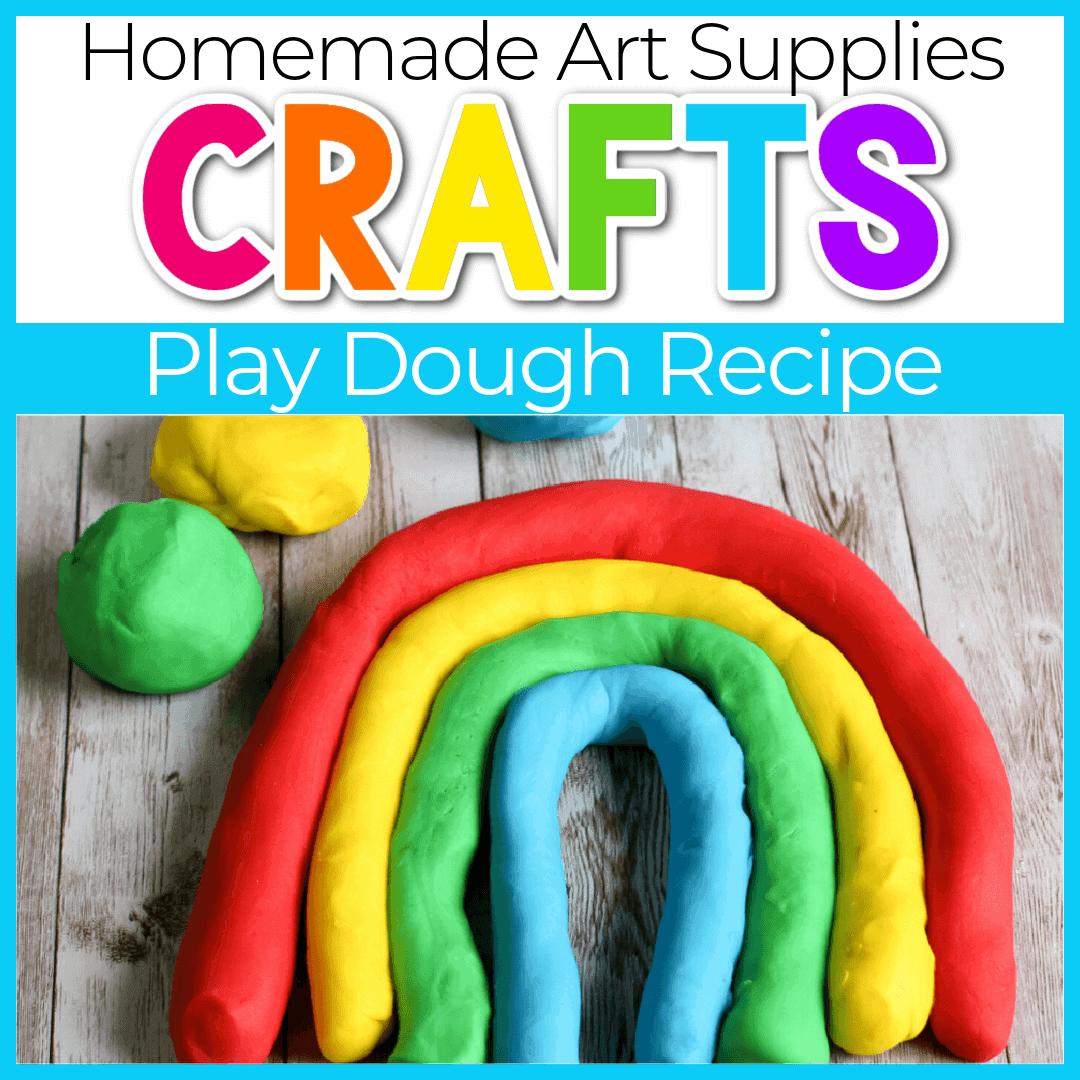 Easy Homemade Play Dough Recipe for Kids