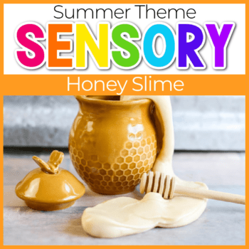 DIY Honey Slime in a pot featured image