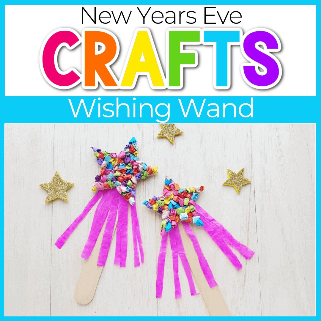 New Years Craft for Kids: Wishing Wand