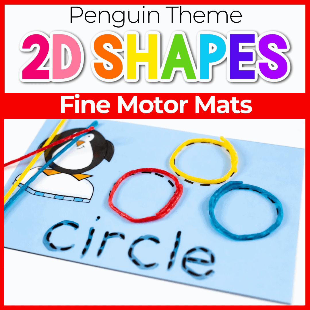 Free Printable Penguin Shapes for Preschool