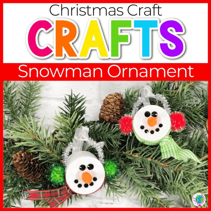 Snowman Tea Light Ornament Featured Image
