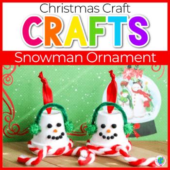 Terracotta Pot Snowman Ornament featured image.