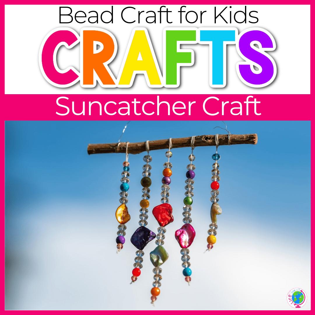 Easy DIY Suncatcher Craft for Kids