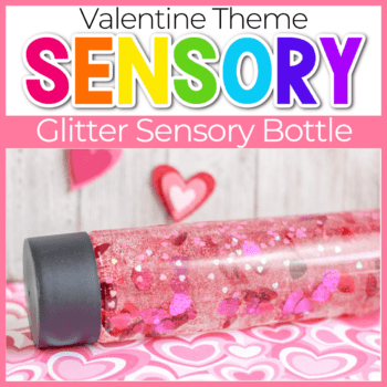 Valentine's Sensory Bottles featured image.