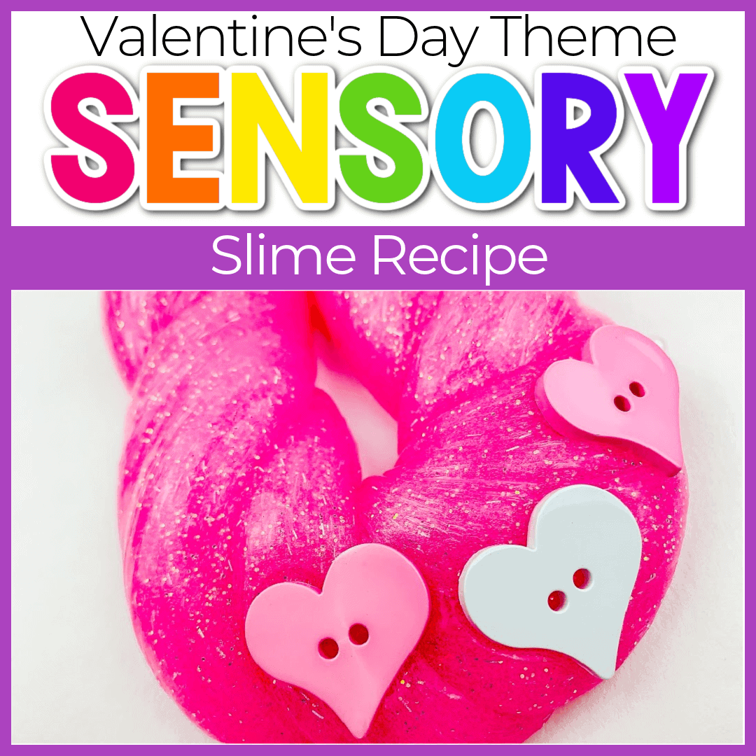 Homemade Valentines Day Slime Recipe for Kids